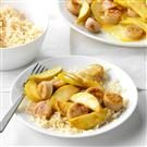 Honey Mustard Apple Chicken Sausage