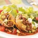Taco-Filled Pasta Shells