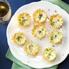 Garlic-Herb Mini Quiches