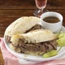 French Dip Subs with Beer au Jus