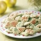 Lime Spritz Cookies