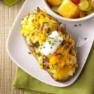 Twice-Baked Breakfast Potatoes for Two