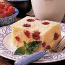 Upside-Down Raspberry Cake