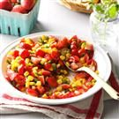 Strawberry Corn Salsa