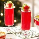 Pink Sparkling Wine Punch