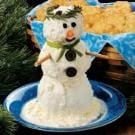 Snowman Cheese Spread