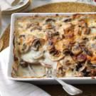 Mushroom-Gruyere Scalloped Potatoes