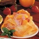 Strawberry-Orange Phyllo Cups