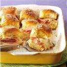 Caramelized Ham & Swiss Buns