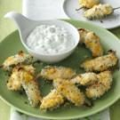Jalapeno Poppers with Lime Cilantro Dip