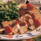 Chicken with Raspberry Sauce