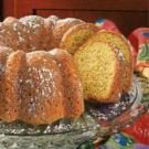 Coconut Poppy Seed Bundt Cake