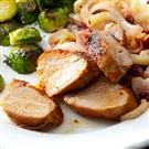 Roasted Pork Tenderloin with Fennel and Cranberries