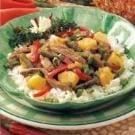 Pineapple Beef Stir-Fry