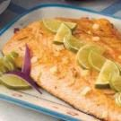 Garlic Lime Salmon