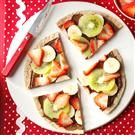 Chocolate-Hazelnut Fruit Pizza