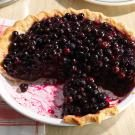 Cape Cod Blueberry Pie