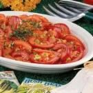 Marinated Garden Tomatoes