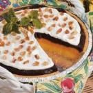 Ribbon Pudding Pie