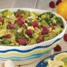 Salad with Raspberry Vinaigrette