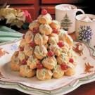 Cream Puff Christmas Tree