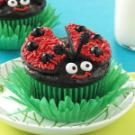 Lady Bug Chocolate Cupcakes