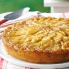 Gingered Apple Upside-Down Cake