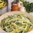 Garlic Green and Wax Beans