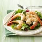 Cilantro-Basil Grilled Shrimp