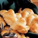 Braided Peppery Cheese Rolls