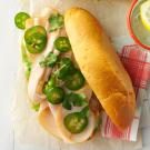 Turkey-Jalapeno Sandwiches