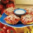 Bacon-Tomato Bagel Melts