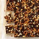 Chocolate Peanut-Butter Crunch Bars