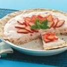 Fluffy Strawberry Meringue Pie