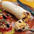 Corn N Bean Burritos