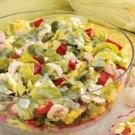 Red Pepper Salad with Parsley Dressing
