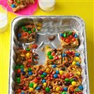 Trail Mix Blondie Bars