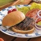 Grilled Beef Burgers