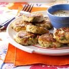 Crab Cakes with Peanut Sauce