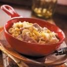 Pork Noodle Casserole with Corn