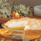 Sunshine Orange Meringue Pie