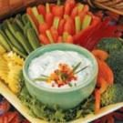 Chive-Onion Vegetable Dip