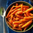 Brown Sugar-Glazed Baby Carrots