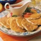 Apple Sausage Pancakes