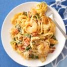 Chicken & Shrimp Fettuccine