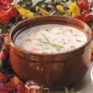 Creamy Wild Rice Soup with Ham