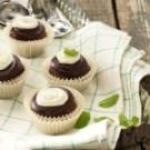 Chocolate-Mint Cookie Cups