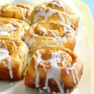 Iced Cinnamon Potato Rolls