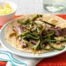 Marinated Steak & Pepper Fajitas
