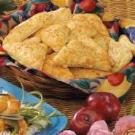 Cheesy Biscuit Triangles